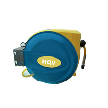 A18 Professional spring-loaded retractable air hose reel with rubber hose wall mountable