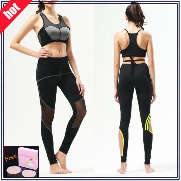 Выполненные на заказ Lycra Breathable Women Fitness Leggings (с сеткой)