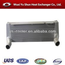 Fabricante personalizado de placa y barra de aluminio de agua a aire del radiador del intercambiador de calor