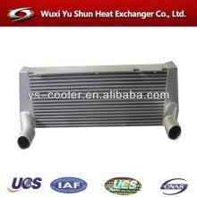 Fabricant personnalisé de radiateur d'échangeur de chaleur à eau et à l'air en aluminium à plaques et barres