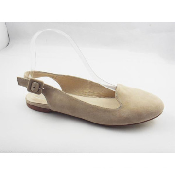 2016 nouveau style femmes Sling Back Dress Flat Shoes (HCY03-171)