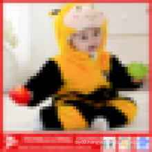 Promotional plain Plush animal bee shape baby clothes