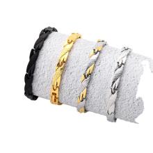 New simple and popular couple bracelet dragon bracelet 7mm wide
