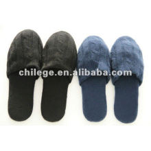 Pure Cashmere Slipper/Cable Cashmere Slipper
