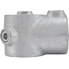 Buena calidad galvanizado maleable hierro Clamp Pipe Fittings