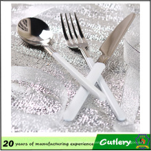 High Quality Stainless Steel Plastic Handle Cutlery