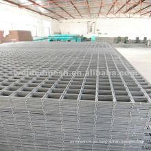 Fabricación de acero inoxidable y de alambre galvanizado soldado