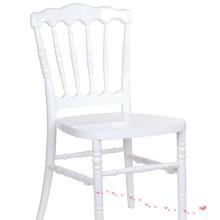 white  Resin Napoleon Chair for wedding