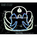 crown tiaras crystal rhinestone wedding hair accessories tall wedding tiaras ribbon crowns