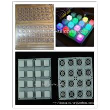 Molde de silicona de goma del silicón de la precisión por encargo