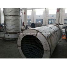 Horno de aire caliente de la combustión industrial del carbón de JRF para el grano