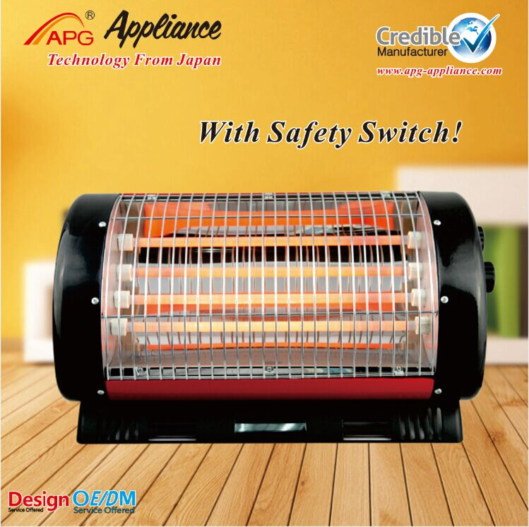 APG High Quality Quartz Heater 1000W