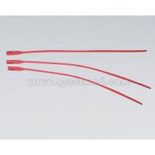Catéter uretral médico del hospital (látex rojo)
