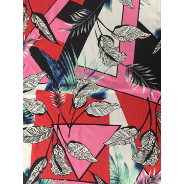 Joint Rayon Challis 30S Tissu D'impression D'Air-jet