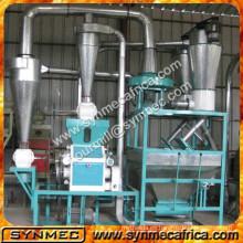 mini / pequeño hogar utilizado maíz de trigo / máquina de molienda / fabricación de harina de maíz