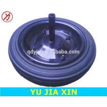 rueda de goma sólida de buena calidad, rueda de 13 pulgadas