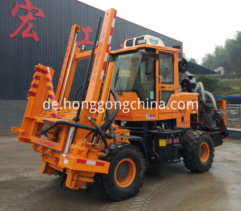 Ground Screw Pile Driver