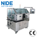 Generator motor armature coil winding machine