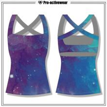 OEM fábrica Spandex Gym Clothing Gym Tank Top de encargo