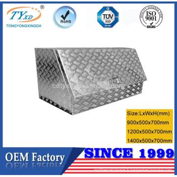 boîtes à outils en aluminium imperméables de remorque à vendre