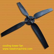 Poly a (PA) Ventilador de la torre de enfriamiento del material