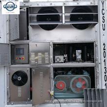 Tianjin LYJN 20 pies 40 pies contenedores de la sala de almacenamiento en frío solar a pie en la sala de almacenamiento congelador