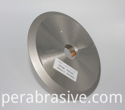 Diamond V Shape Groove Grinding Wheel