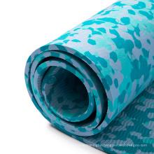 extra thick high density anti-tear exercise Eco friendly camouflage camo new style fitness non slip  custom label eva yoga mat