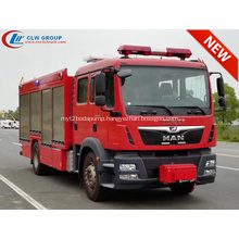 2019 New Arrival MAN CAFS foam fire truck