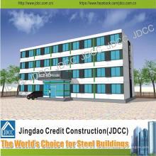 Chine Jdcc bâtiment en acier léger de plusieurs étages d'hôtel de structure en acier