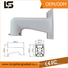 Iso 9001 entreprises certifiées en aluminium serviable support de montage d'extrusion