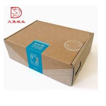 Nouveau populaire vente ondulé petite boîte carton écharpe boîte