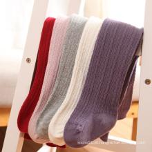 2016 popular garoto Super macio algodão collants/meias