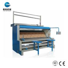Máquina bobinadora de inspección de acabado de teñido textil