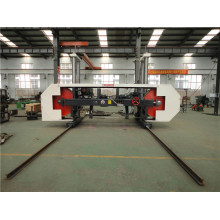 wood cutting CNC heavy duty horizontal sawmill