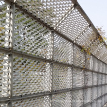 High quality high safety expanded metal/Galvanized Powder Coated expanded metal/Diamond metal mesh lath made in China hot sale