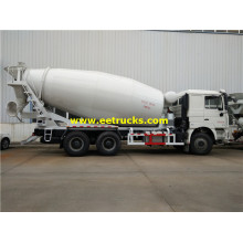 Camión SHACMAN 12cbm Ready Concrete Mixed
