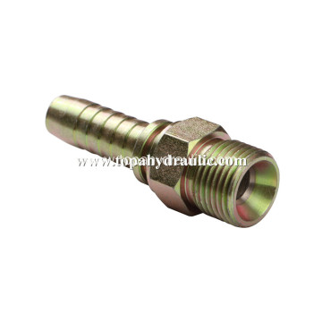 Aeroquip hydraulic to faucet adapter braided hose fittings
