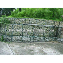 gabion baskets/ pvc coated steel iron gabion basket