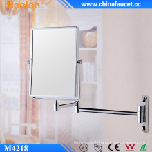 8 '' Rechteck Doppelseite 3X dekorativer Kompaktspiegel