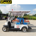 EXCAR Hot Sale Electric Ambulance Cart With CE Certificate