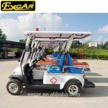 Chariot électrique d'ambulance de vente chaude d'EXCAR avec le certificat de la CE