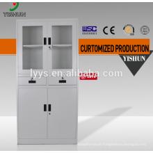 Cheap Metal 2 Double Door File Cupboard Steel Filing Cabinet