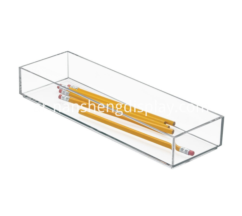 Acrylic Office Supplies Desk Drawer Organizer
