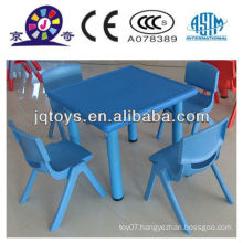 2016 Childrens furniture cheap plastic study table set for kids