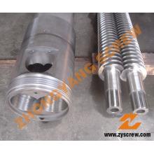 Plastic Recycle Machinery Bimetallic Single Screw