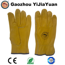 Ab Grade Cow Grain Leather Industrial Drivers Gloves