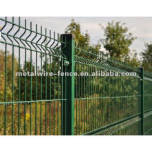 galvanized then pvc coated wire mesh fence(anping factory)