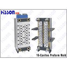 16 cavidad G 24 28pco molde de preformas de Pet