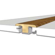Accessoire de revêtement en stratifié T-moulage en 12mm 12mm 12mm